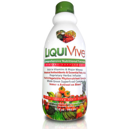 LiquiVive Liquid Vitamins Nutritional Supplement